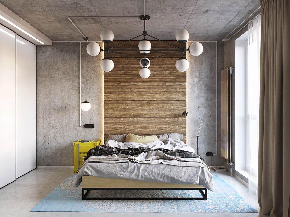 Industrial Chic Curtains Industrial Style Bedroom Design The Essential Guide