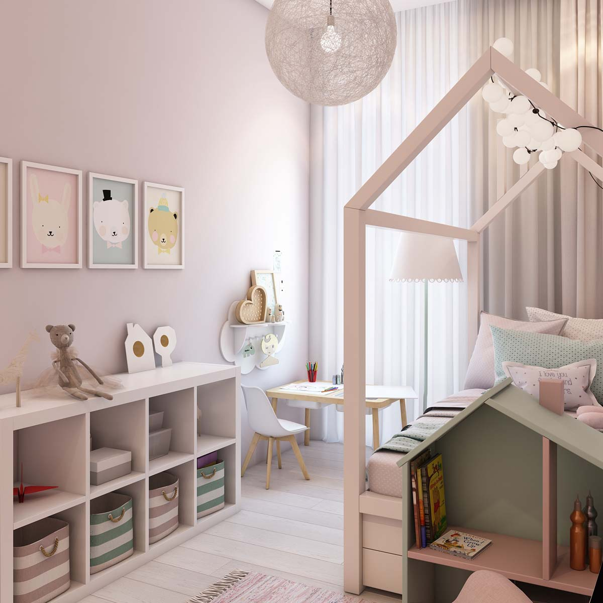 Whimsical Shelves Home Designing A Simple Modern Apartment In Moscow