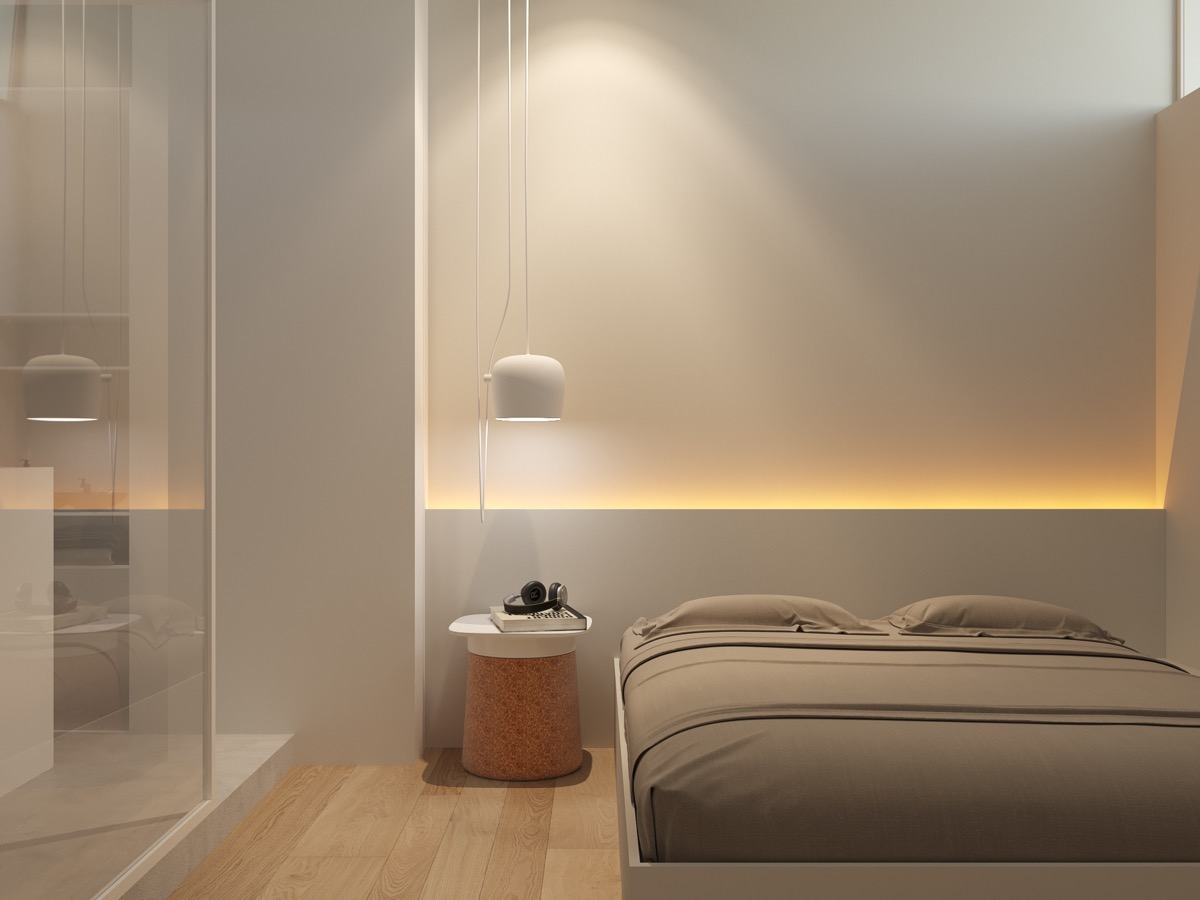 Cheap Bedroom Lighting 44 Awesome Accent Wall Ideas For Your Bedroom