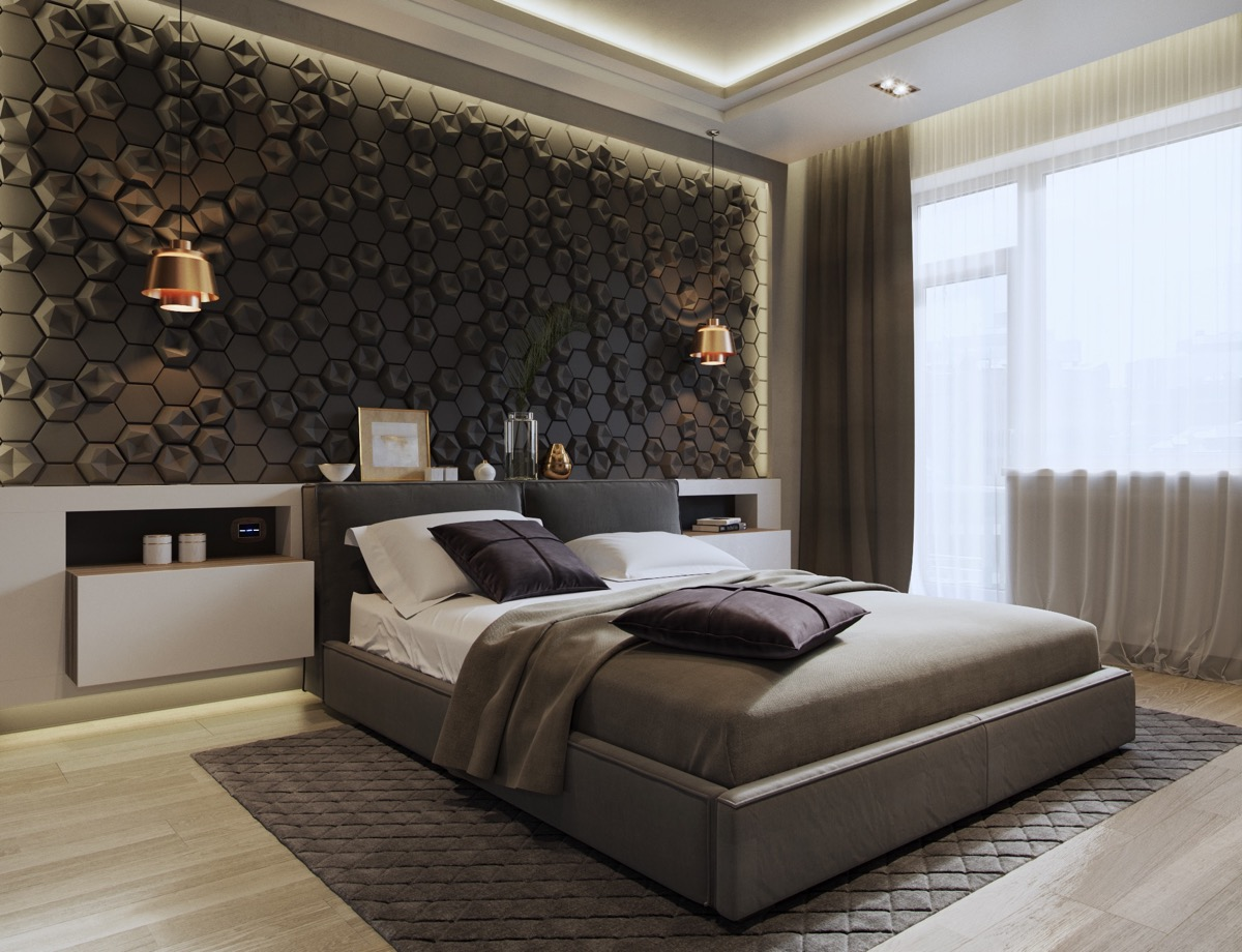 Accent Bed 44 Awesome Accent Wall Ideas For Your Bedroom
