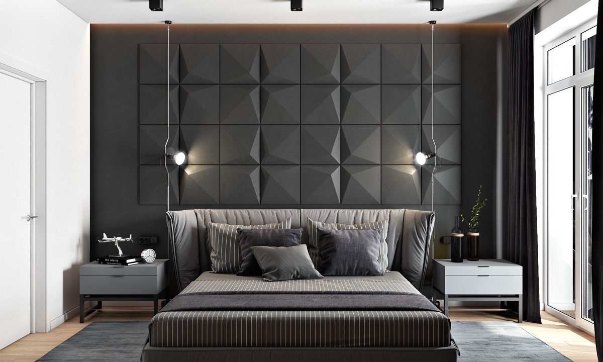 Black Accent Walls 44 Awesome Accent Wall Ideas For Your Bedroom