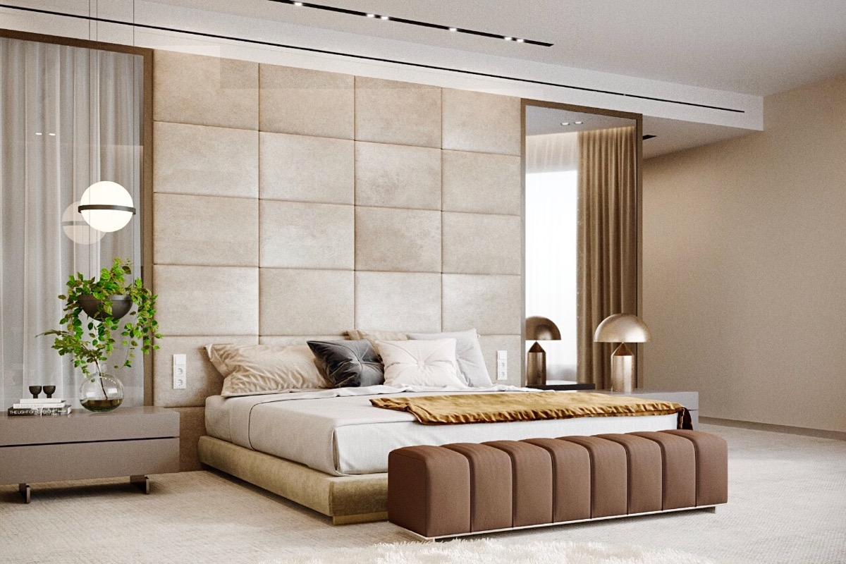 Marble Bedroom 44 Awesome Accent Wall Ideas For Your Bedroom