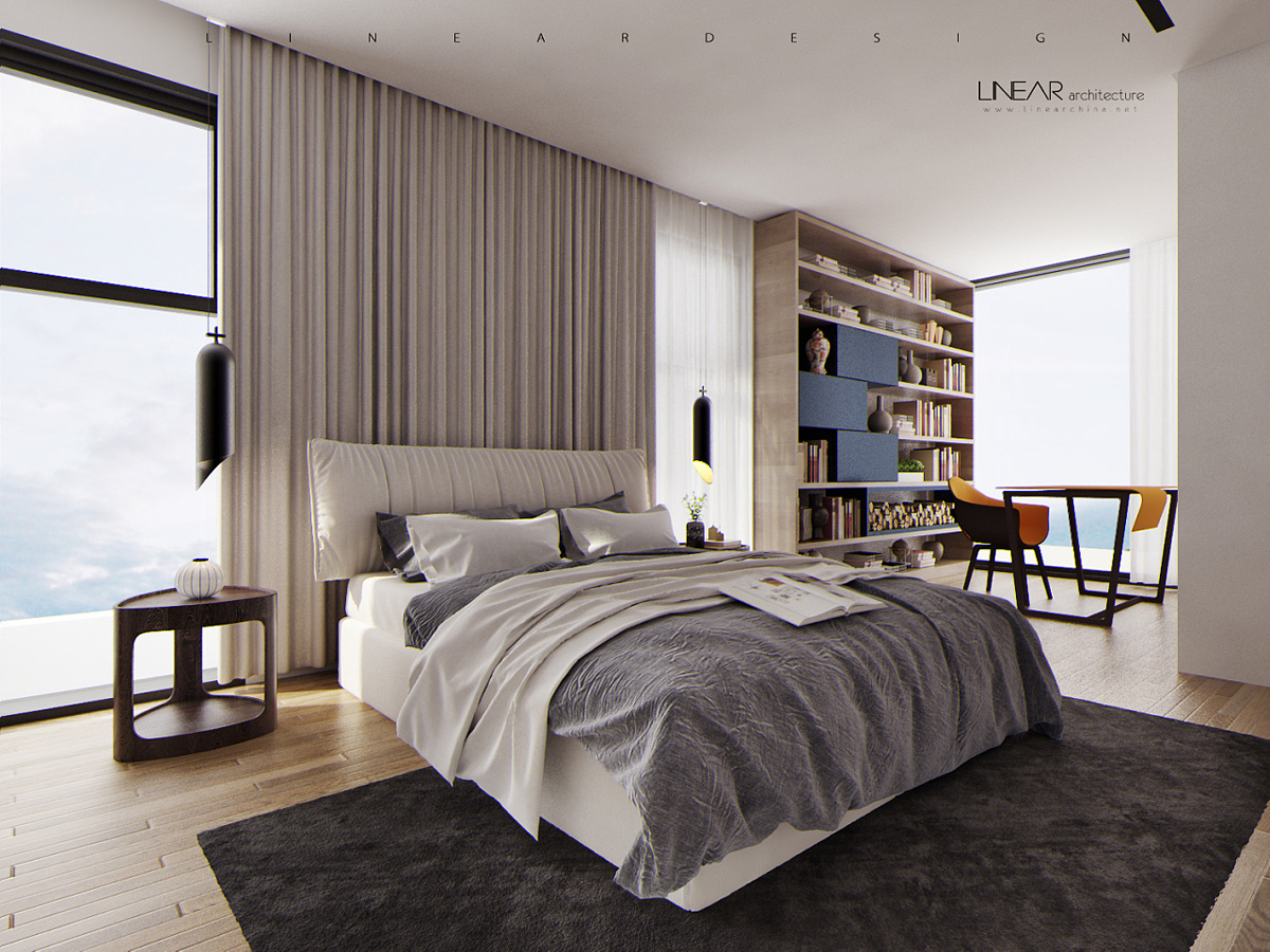 Modern Master Bedroom Modern Asian Luxury Interior Design