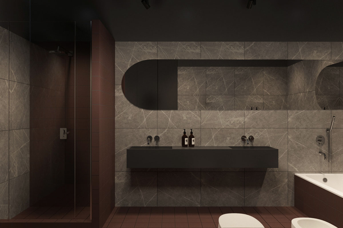 Ultra Modern Bathroom 2 Sleek Homes That Are Unapologetically Modern