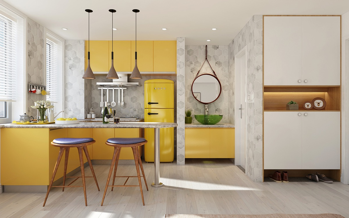 Yellow Kitchen Design Ideas 10 Best Yellow Kitchen Design Ideas