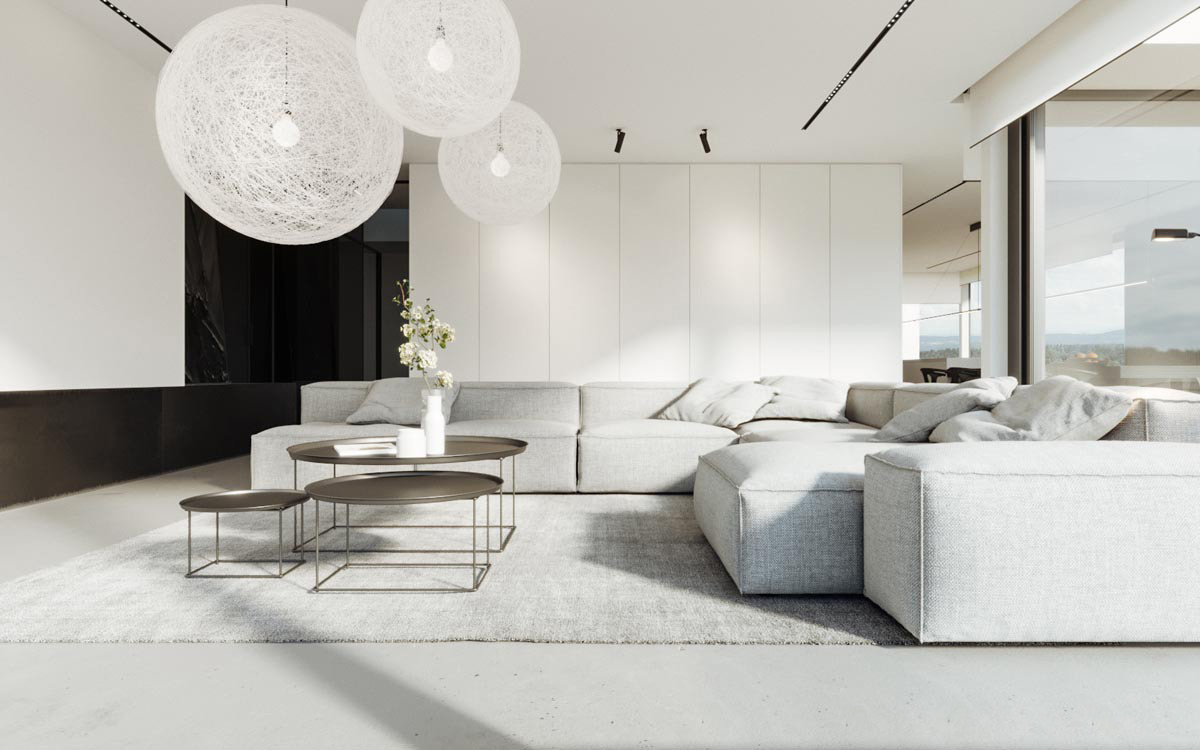 Interior Modern Minimalis 40 Gorgeously Minimalist Living Rooms That Find Substance In