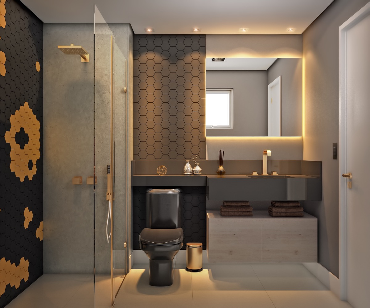 Modern Restroom Designs 40 Modern Bathroom Vanities That Overflow With Style