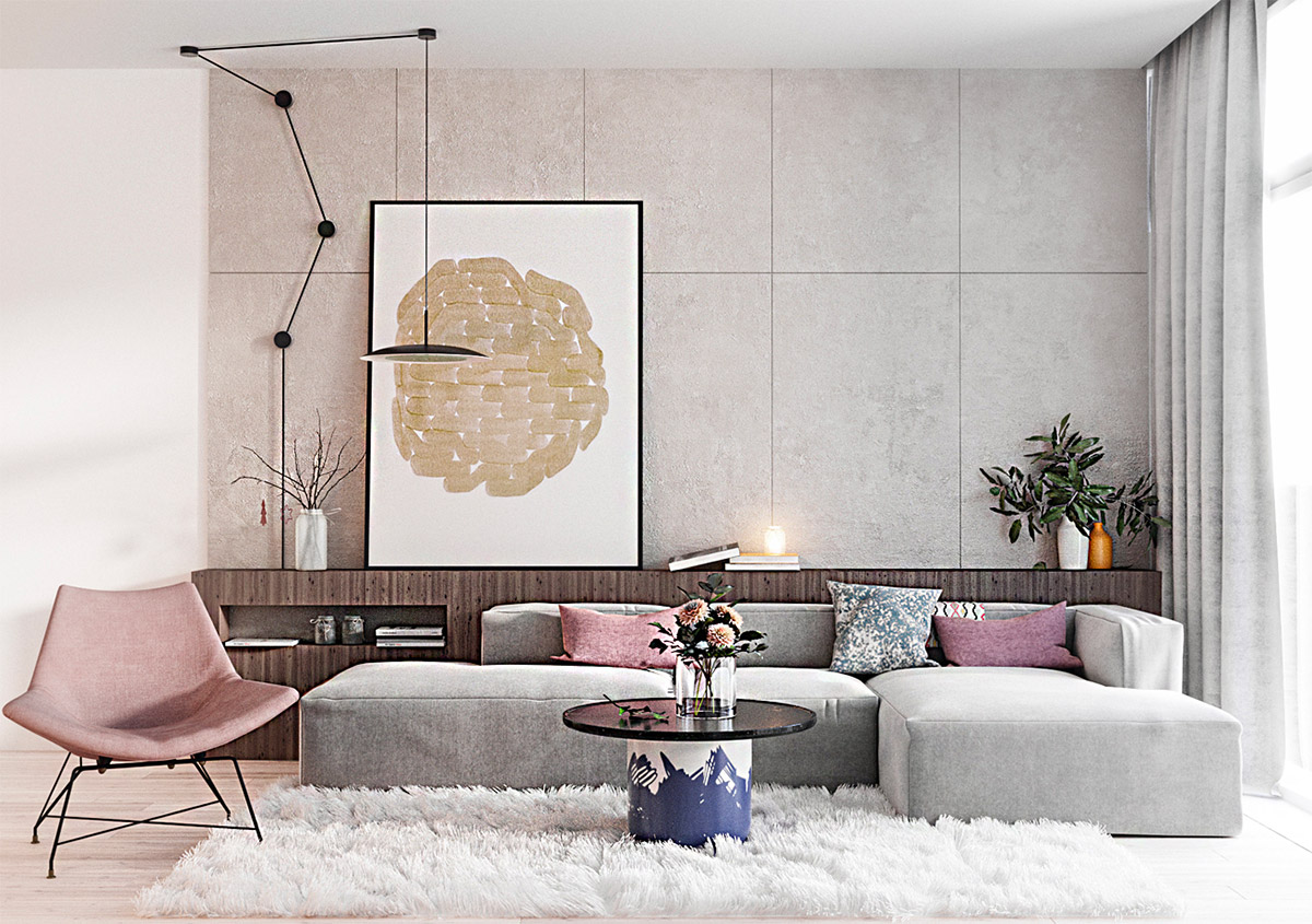 Woonkamer Roze 40 Grey Living Rooms That Help Your Lounge Look