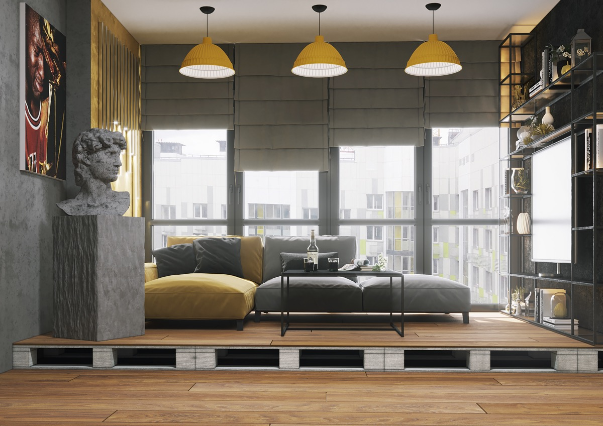 Yellow And Gray Living Room 40 Grey Living Rooms That Help Your Lounge Look
