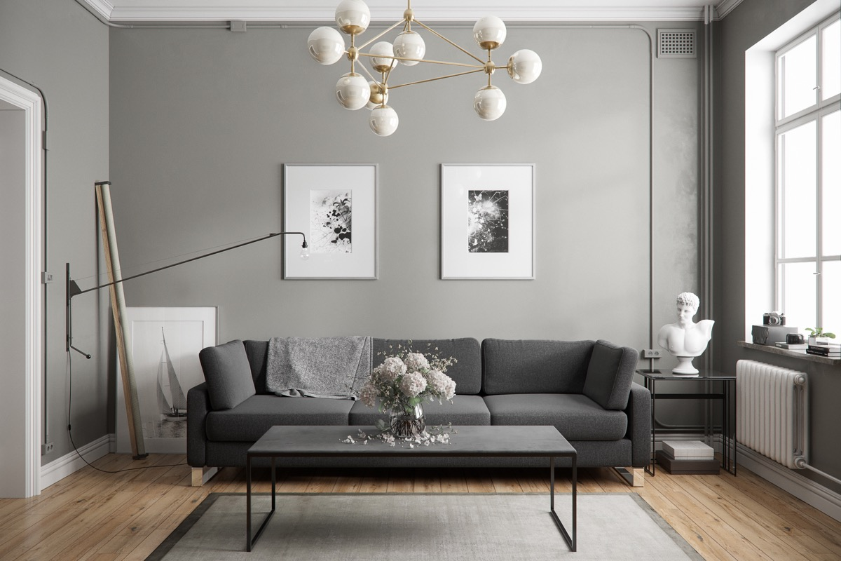 Gray Sofas For Living Room 40 Grey Living Rooms That Help Your Lounge Look Effortlessly