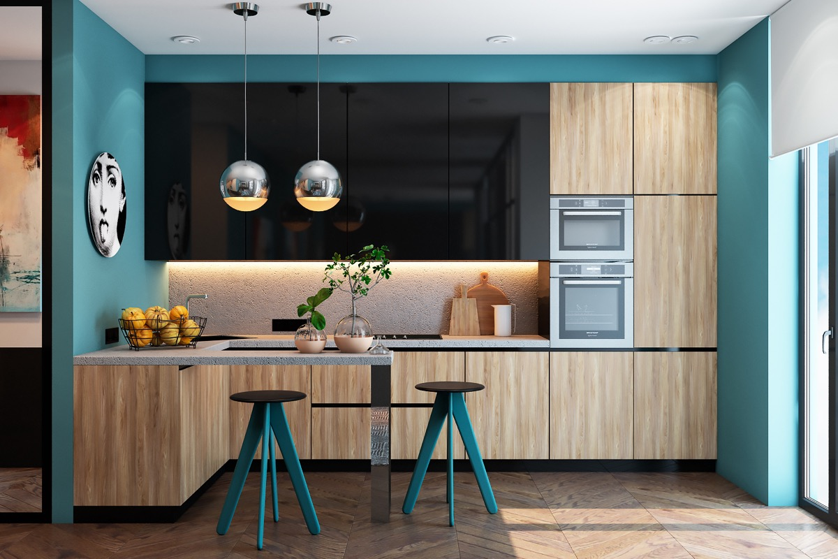 Teal Kitchen Decorating Ideas Minacciolo Country Kitchens With Italian Style