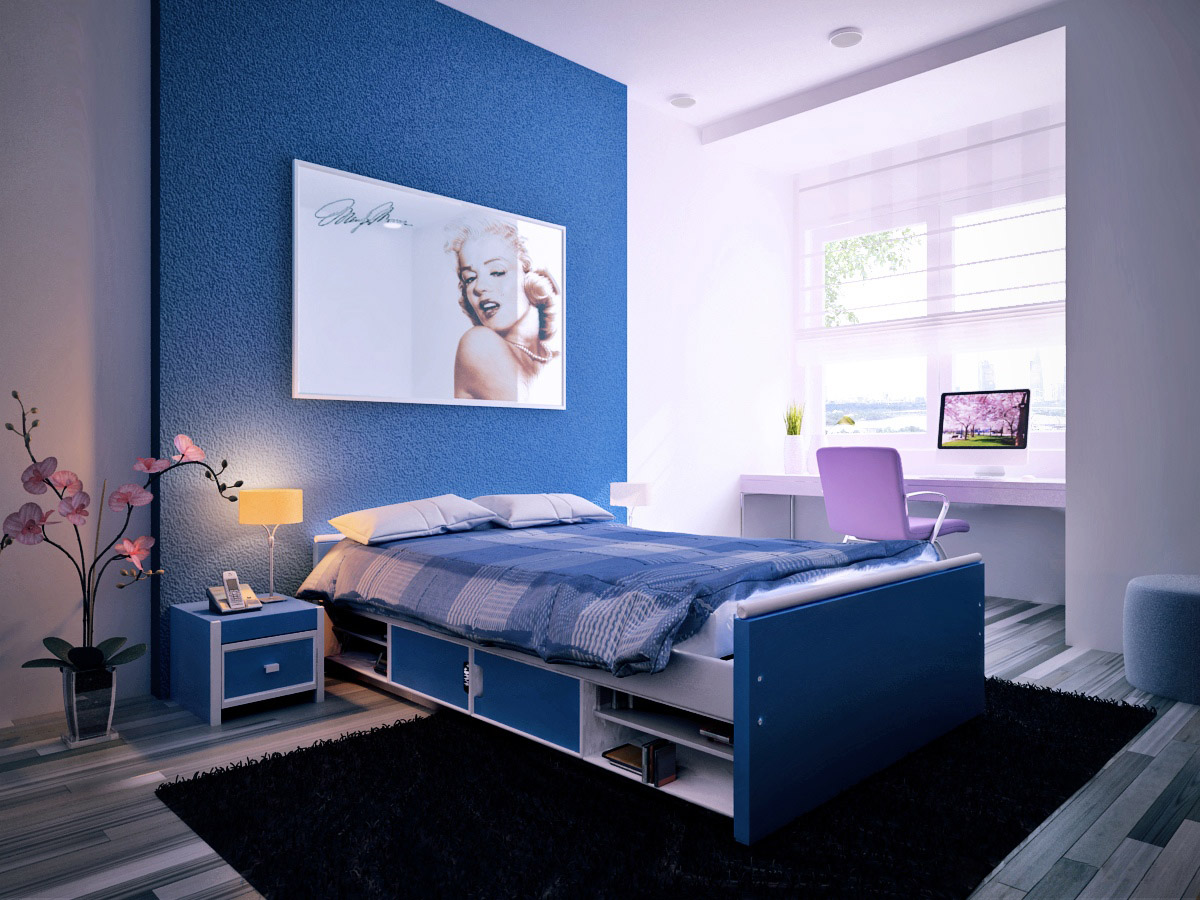 Pictures Of Blue Bedrooms 30 Buoyant Blue Bedrooms That Add Tranquility And Calm To