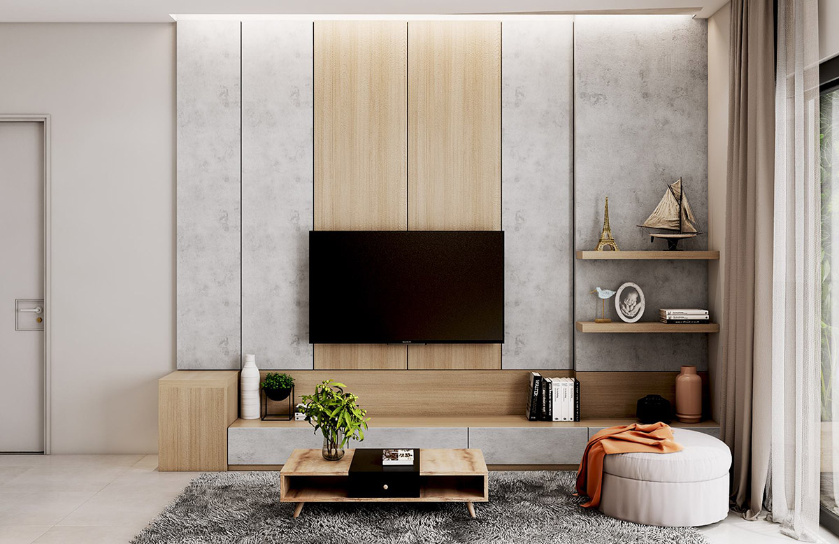 Tv On The Wall Ideas 50 Ideas To Decorate The Wall You Hang Your Tv On