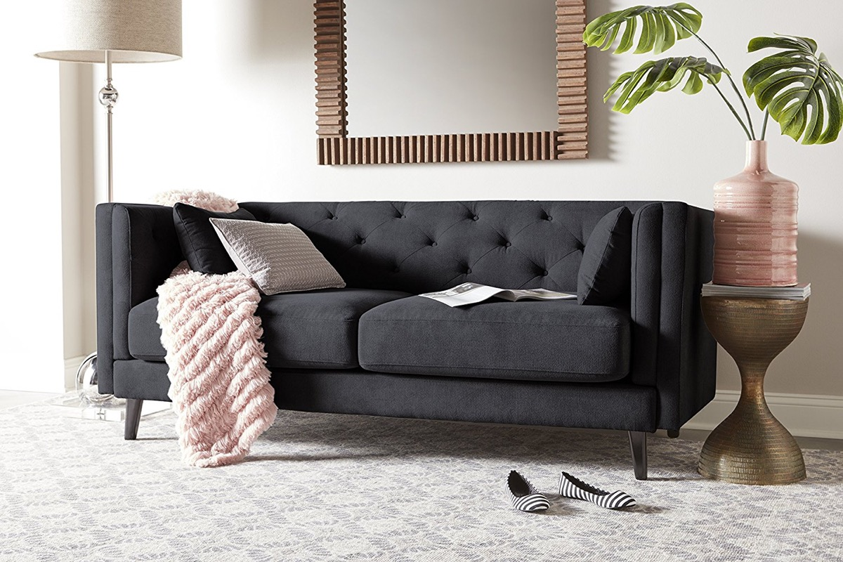 Modern Quilted Sofa 30 Mid Century Modern Sofas That Make Your Lounge Look The Era