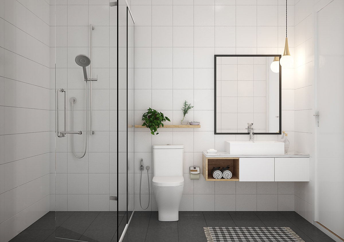 White And Gray Bathroom Ideas 36 Modern Grey And White Bathrooms That Relax Mind Body And Soul