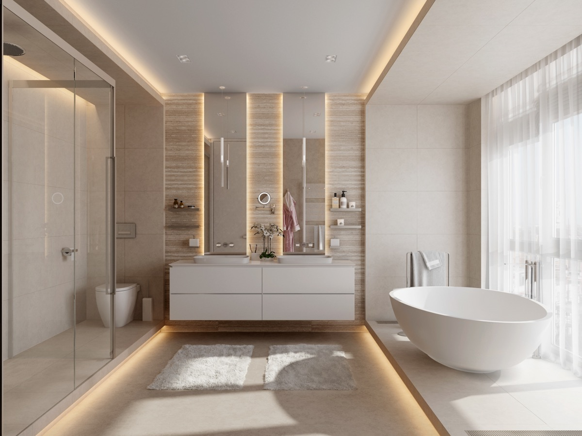 Fancy Bathrooms 50 Luxury Bathrooms And Tips You Can Copy From Them