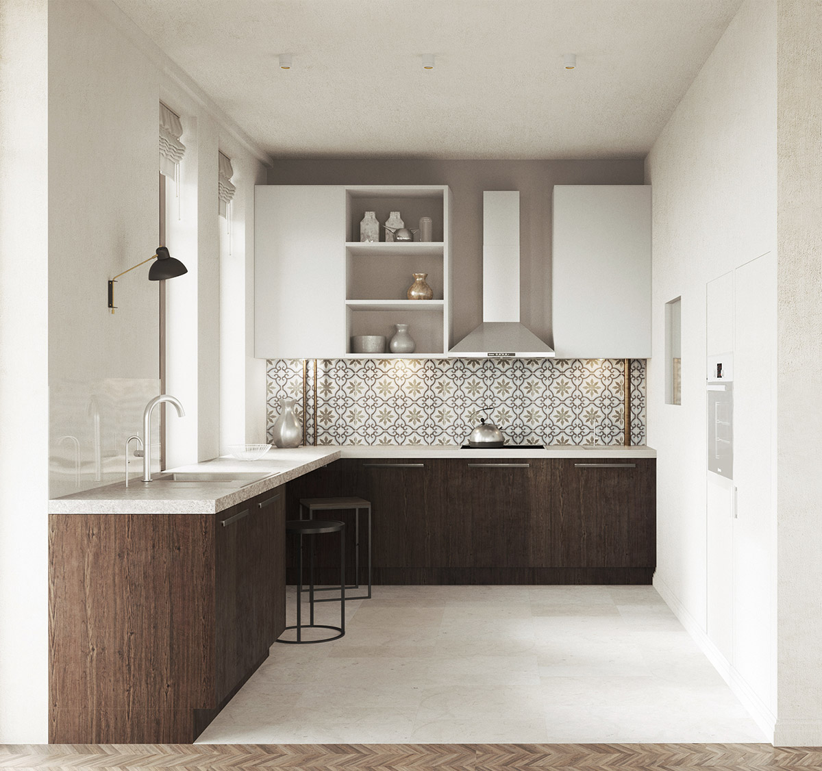 50 Lovely L Shaped Kitchen Designs Tips You Can Use From