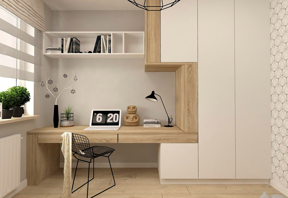 Office Home 37 Minimalist Home Offices That Sport Simple But Stylish Workspaces