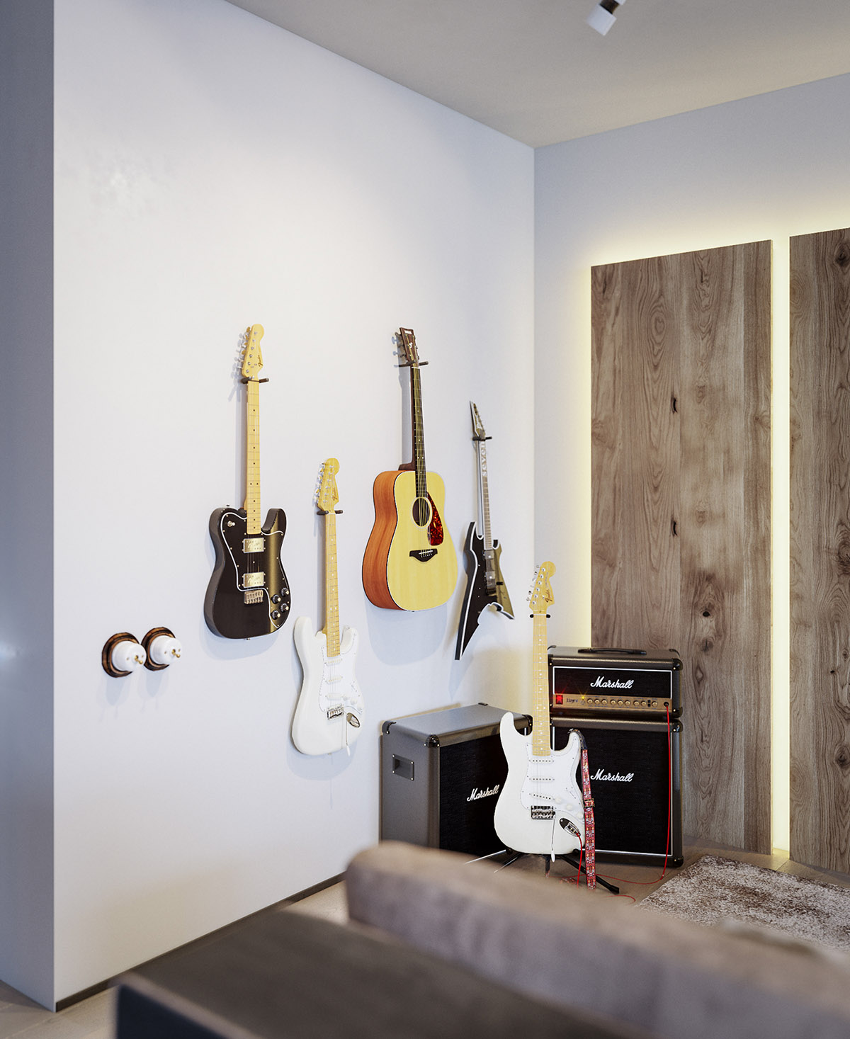 Music Themed Decor Four Types Of Industrial Style Decor