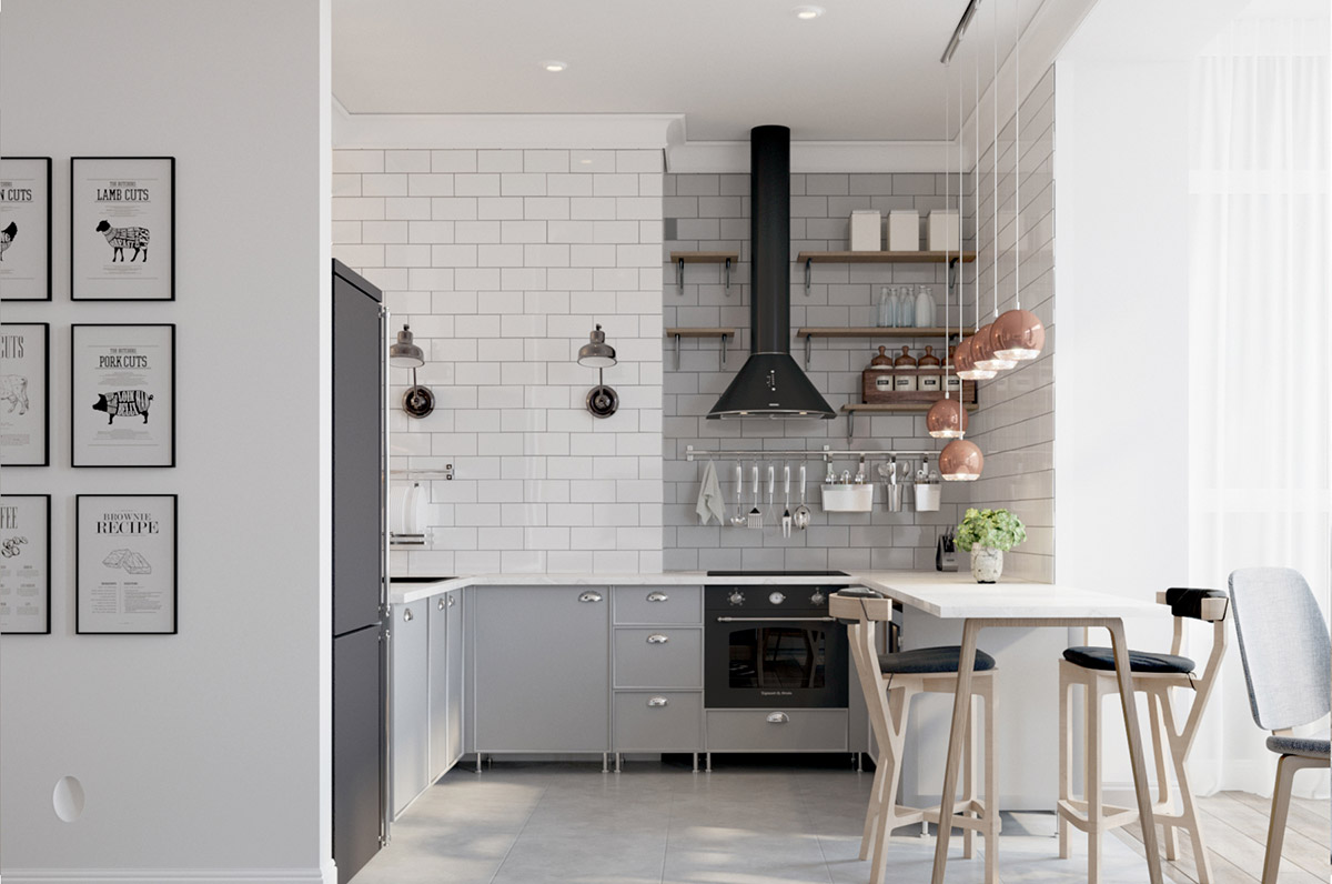 U Shaped Kitchen Designs With Breakfast Bar 50 Unique U Shaped Kitchens And Tips You Can Use From Them