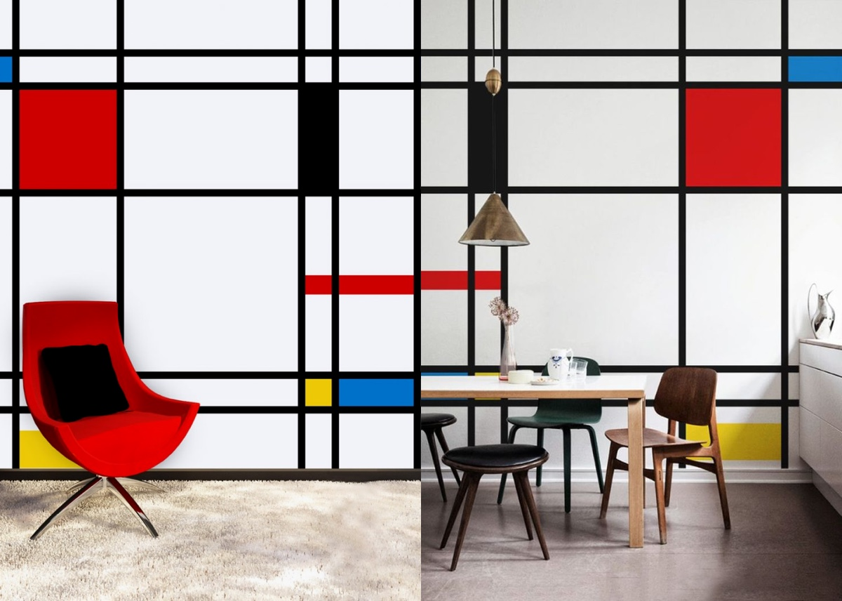 Mondrian Wall Piet Mondrian Inspired Interior Design To Give Your Home
