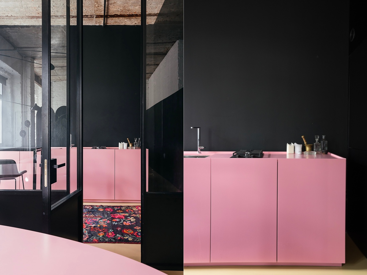 Pink And Black Kitchen Decor 51 Inspirational Pink Kitchens With Tips And Accessories To