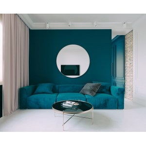 Rousing Couch Round G Table Surrounded By Walls Blue Living Rooms Accent Wall Gems 07 Round Mirror Gems Runescape Surrounded By Walls