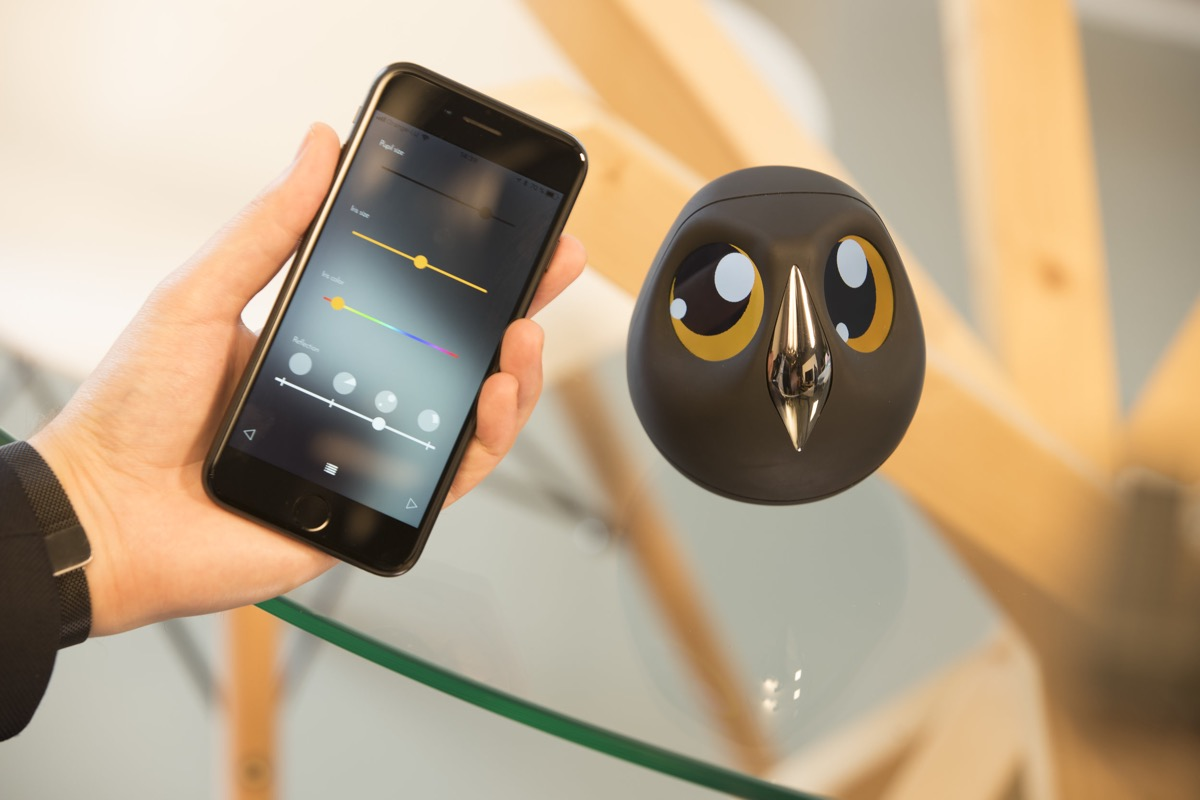 Cute Security Camera Product Of The Week An Interactive Owl Shaped Security Camera
