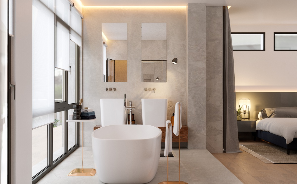 51 Master Bathrooms With Pictures Tips And Accessories To Help You Design Your Own Bathroom