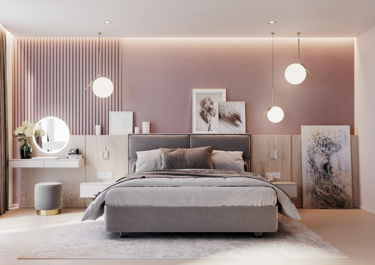 Rosa Accessoires Schlafzimmer 51 Pink Bedrooms With Images Tips And Accessories To Help You