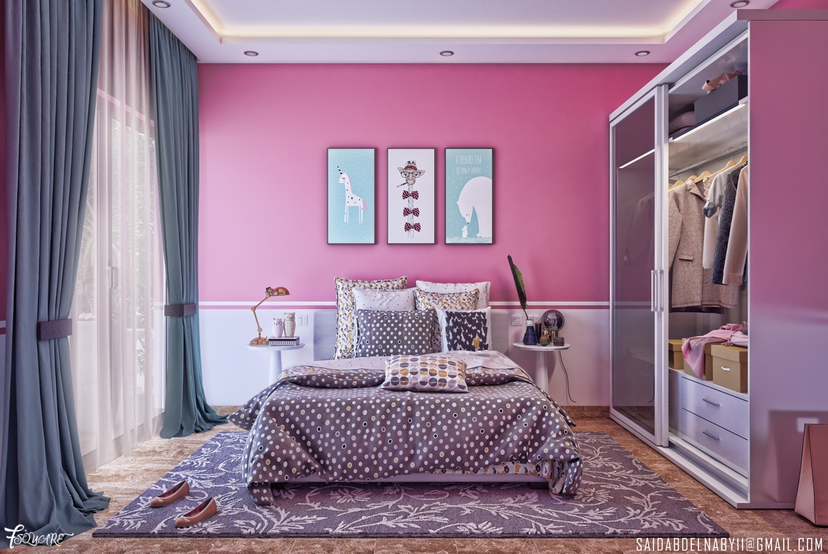 Schlafzimmer Modern Pink 51 Pink Bedrooms With Images Tips And Accessories To Help