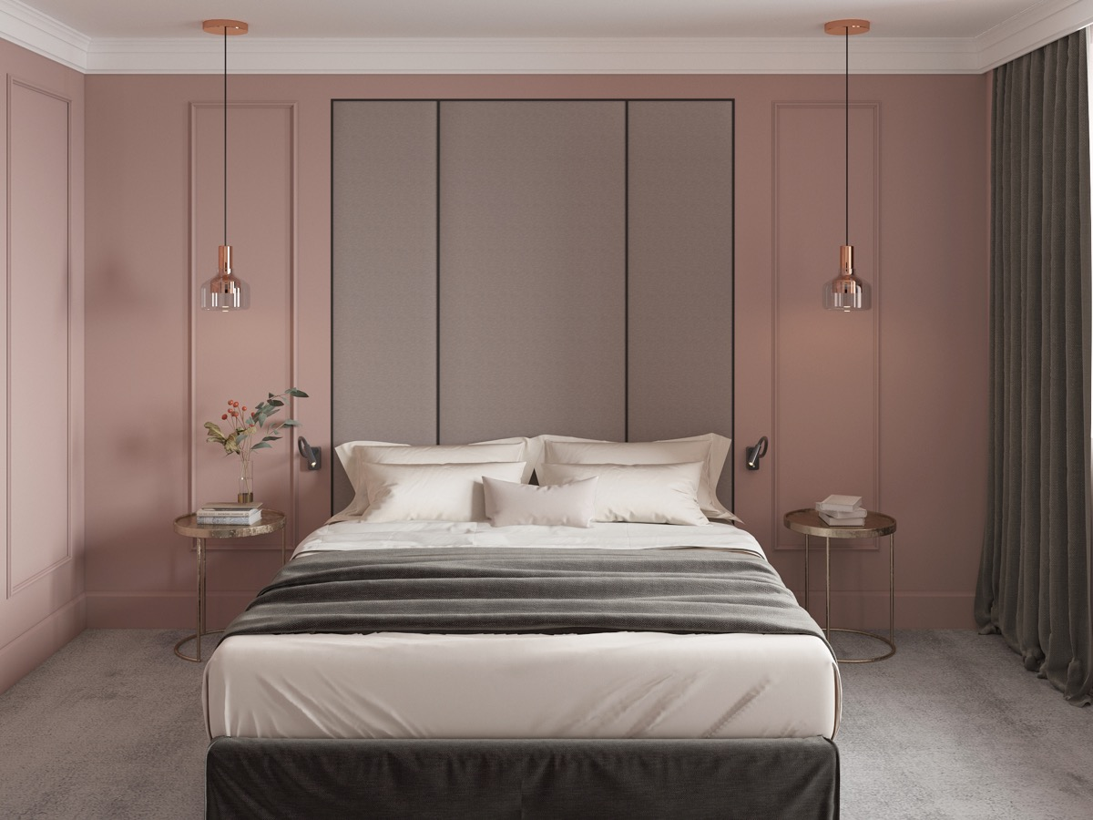 Schlafzimmer Inspiration Gold 51 Pink Bedrooms With Images Tips And Accessories To Help You