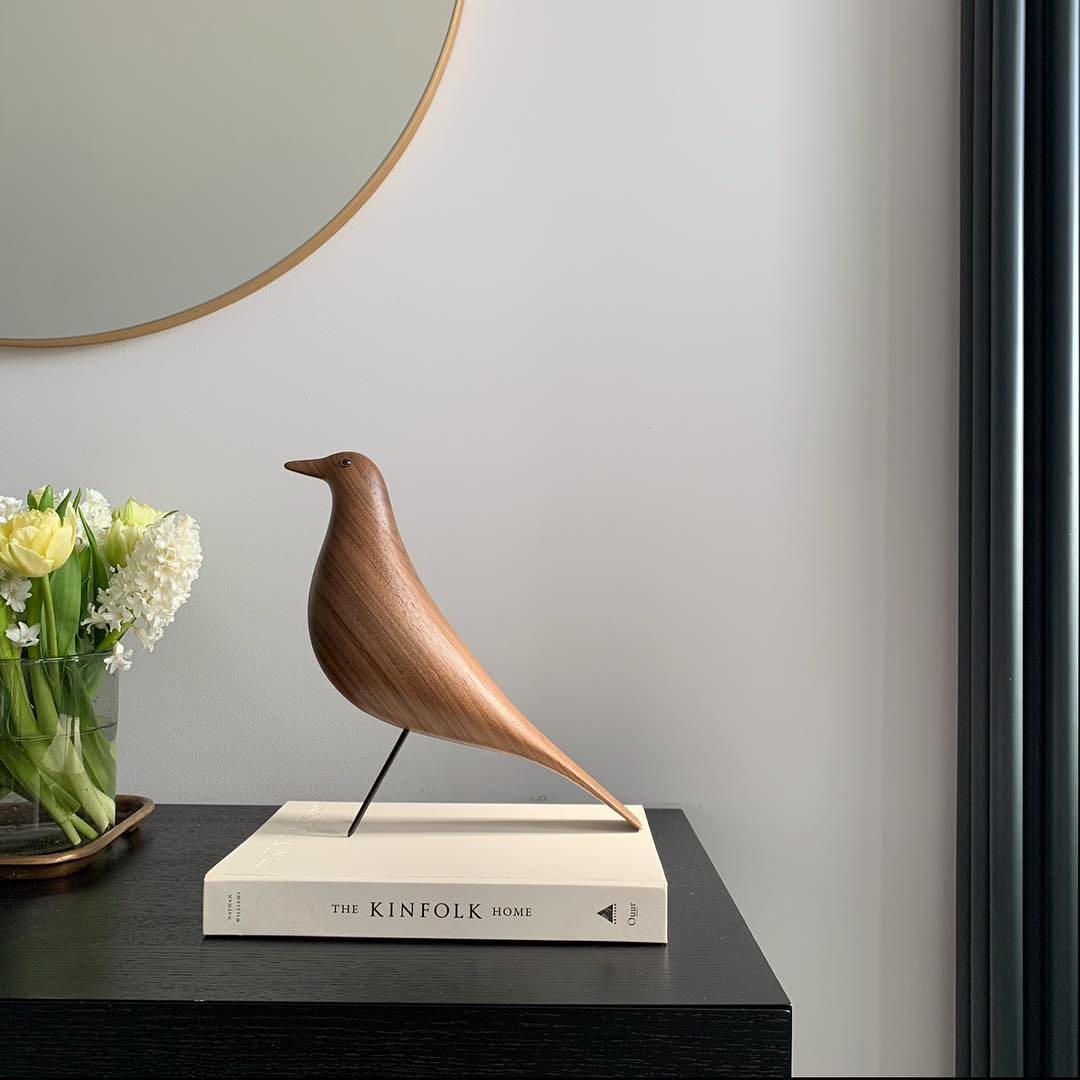 Eames Bird Product Of The Week: The Iconic Eames Bird In Walnut
