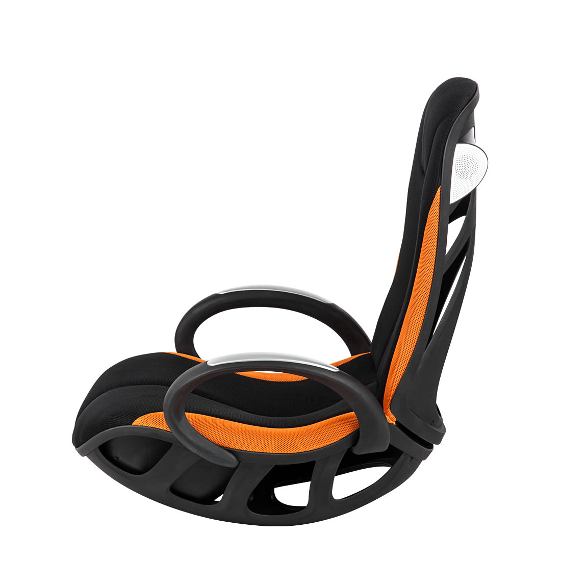 Multi Media Sessel Multimediasessel Schwarz Orange Gaming Chair Relax