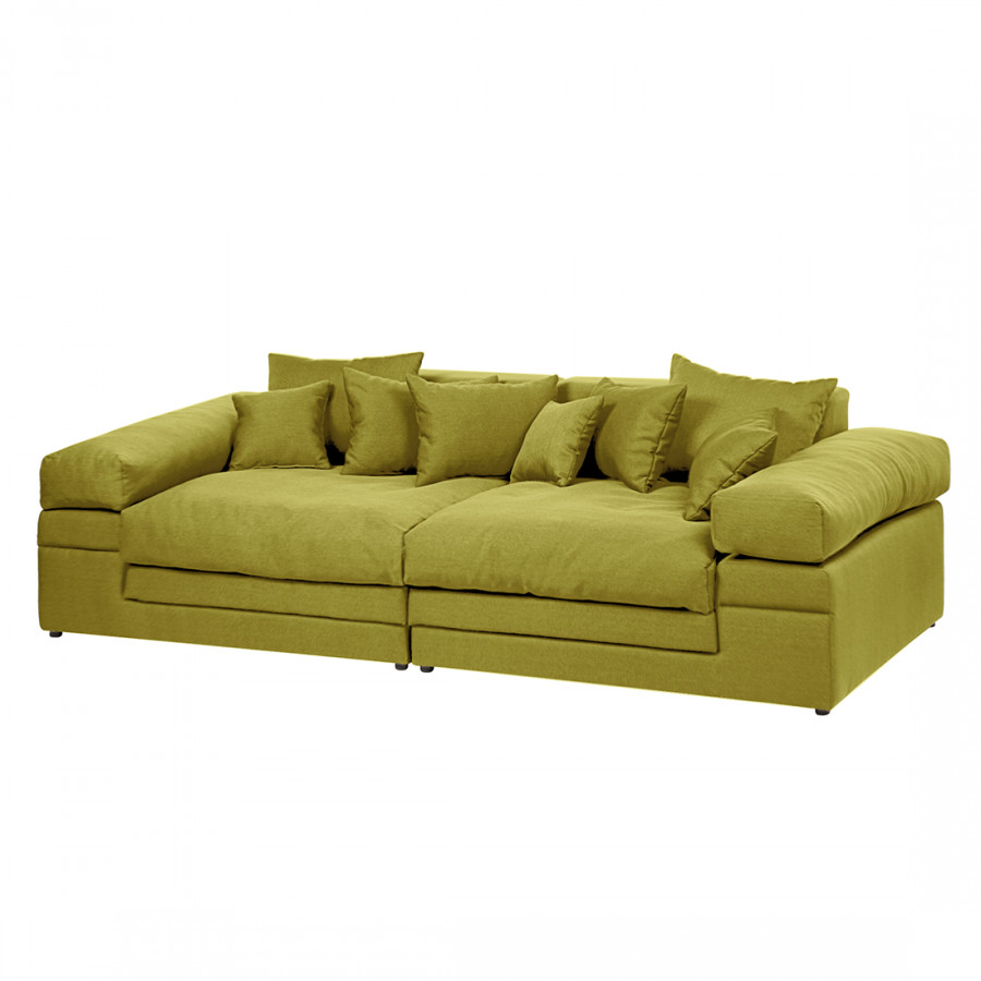 Bigsofa Blair Big Sofa Grün