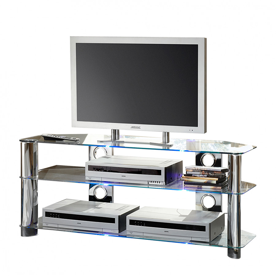 Tv Lowboard Glas Tv-lowboard Space - Glas | Home24