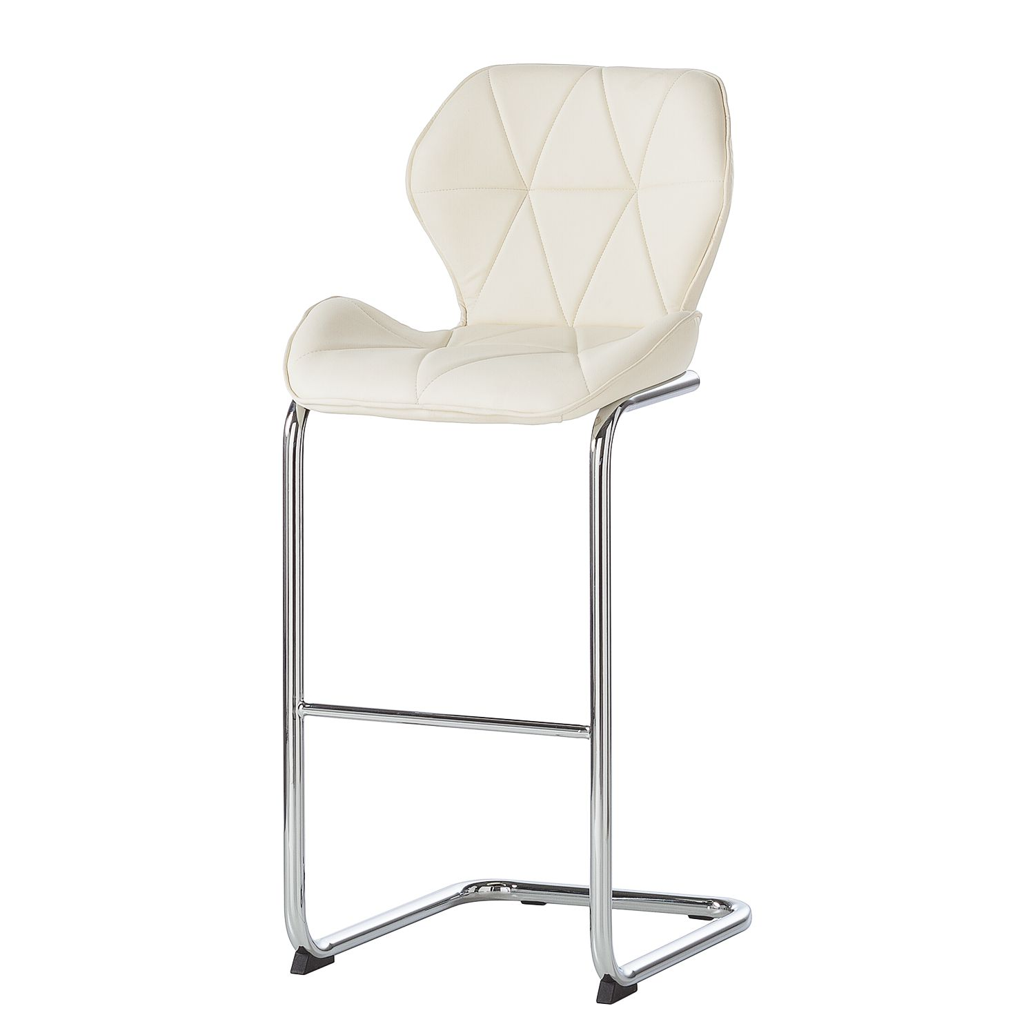 Chaise De Bar Cuir Chaise De Bar Onega Imitation Cuir Blanc Roomscape
