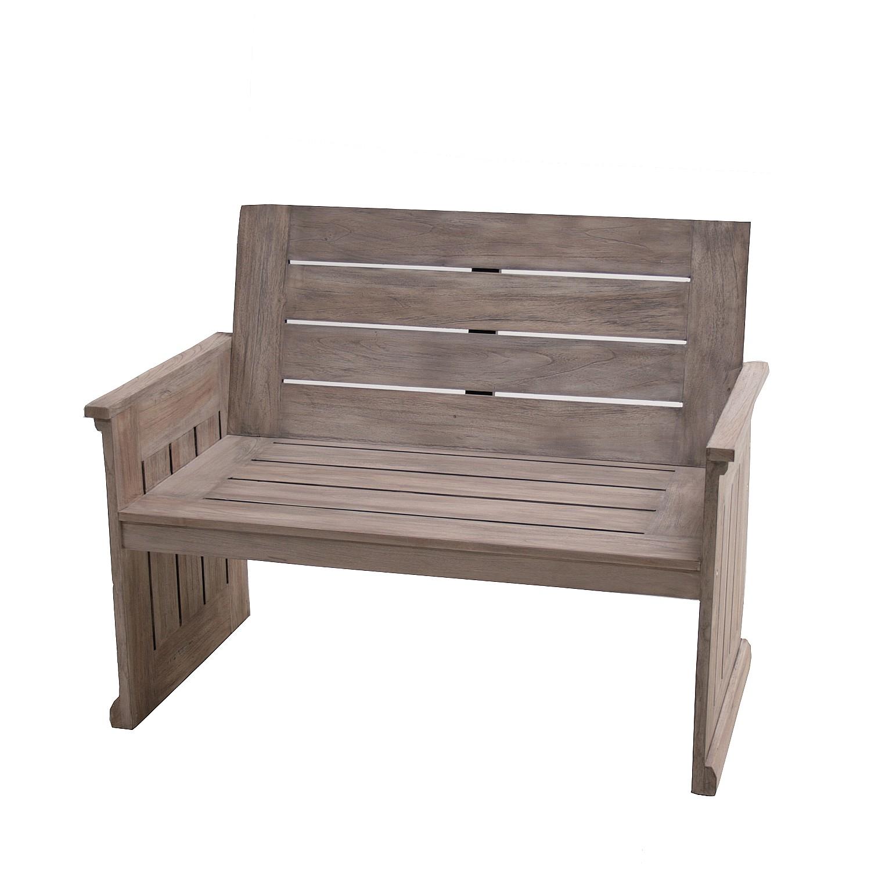 Gartenbank Teak 3 Sitzer Oder 4 Bank Auflage Holz