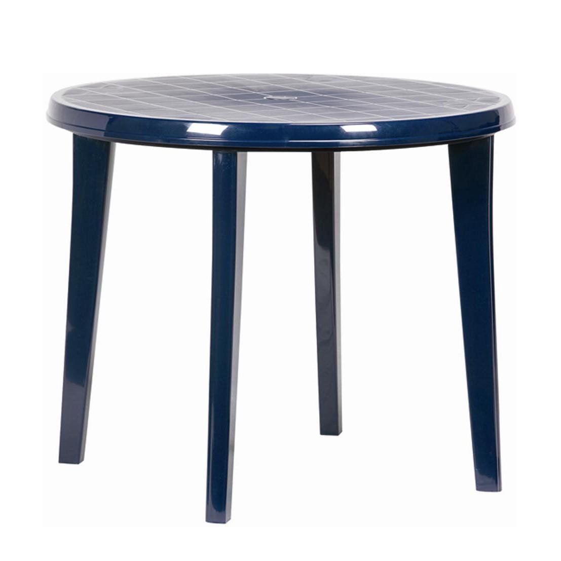 Gartentisch Kunststoff Blau Gartentisch Metall Eckig Top Vanage