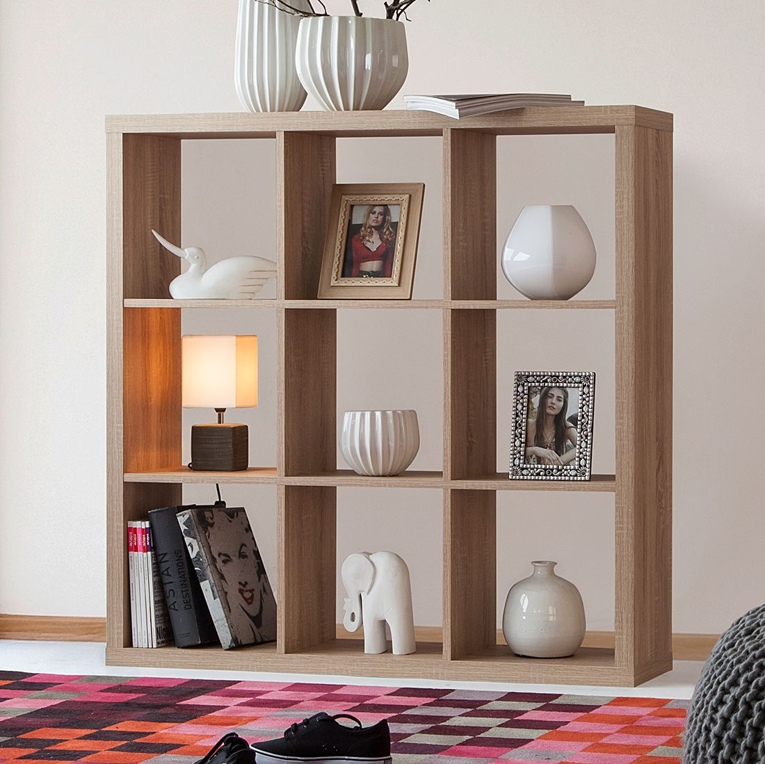 Regal Shelfy Fredriks Regal Shelfy Eiche Hell Raumteiler BÜcherregal
