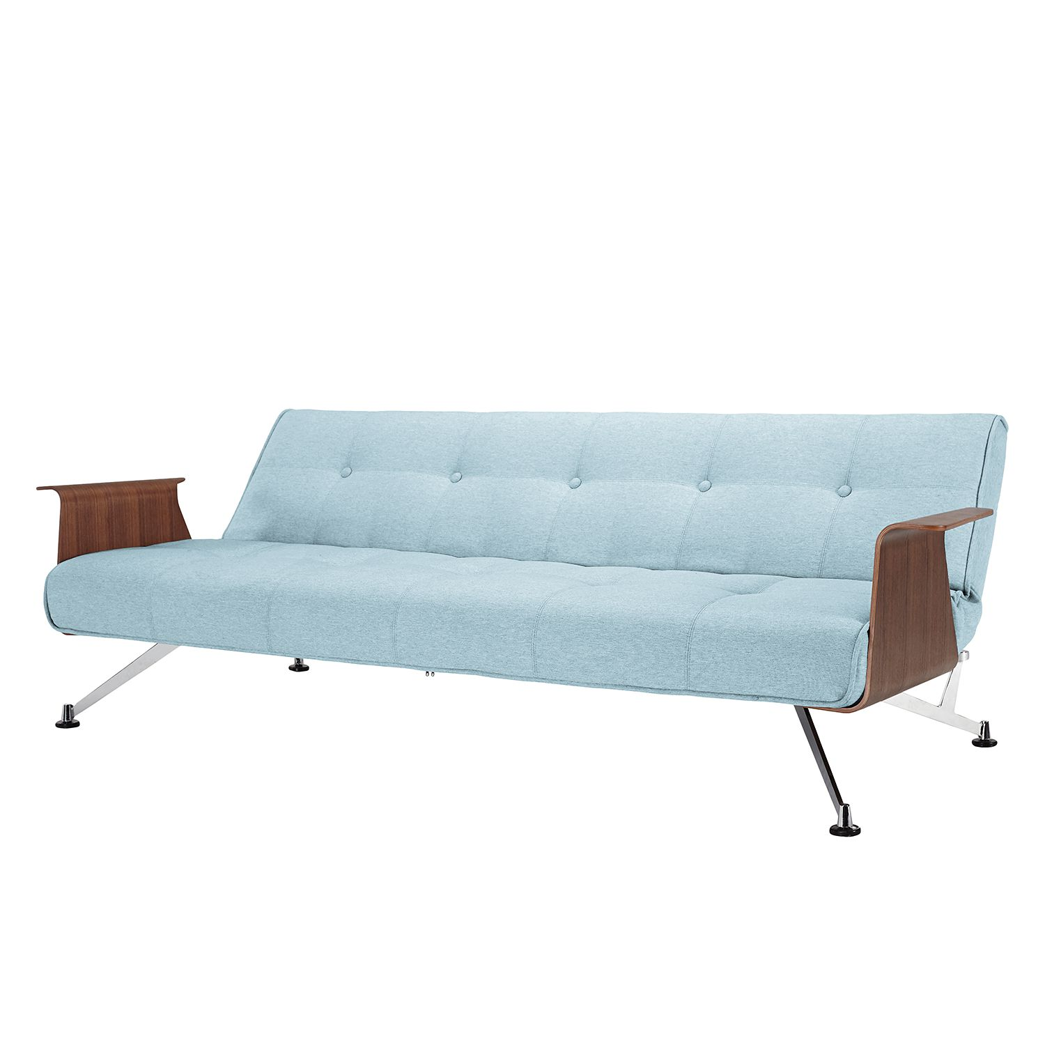Innovation Clubber Sessel Schlafsofa Clubber Webstoff Pastellblau Innovation Möbel Günstig