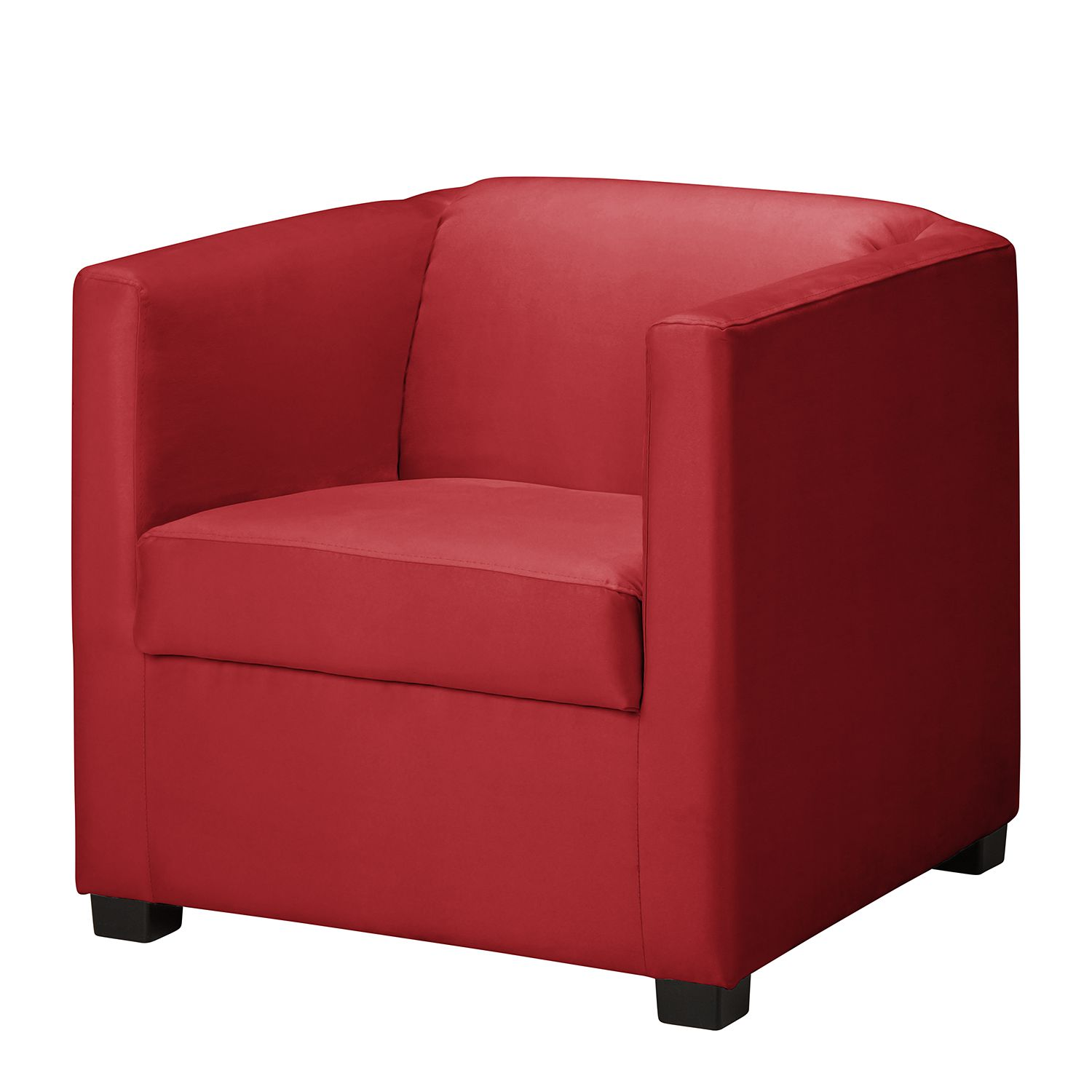 Home24 Fauteuils Fauteuil Cuir Rouge Relax Serrurieralaclef