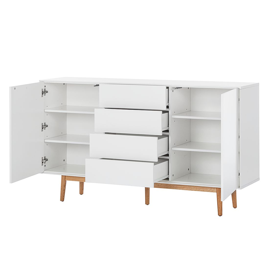 Sideboard Lindholm Sideboard Eiche Wei Gallery Of With Sideboard Eiche Wei