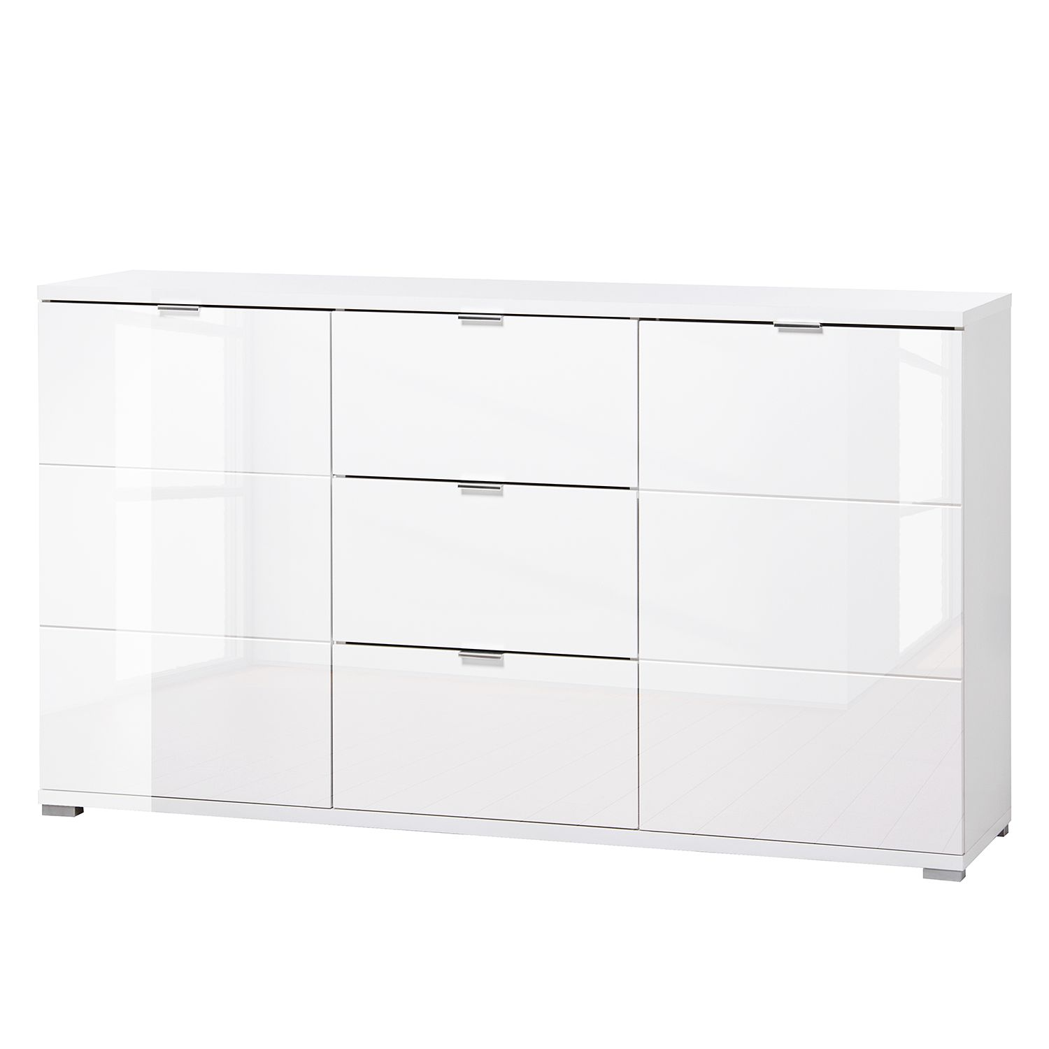 Sideboard Wei Finest Cheap Sideboard Wei Abgerundete Ecken With