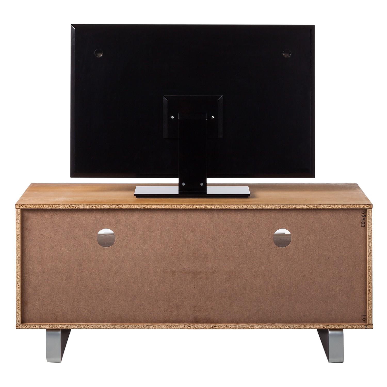 ars natura tv lowboard chicago ii eiche teilmassiv board schrank tisch regal ebay