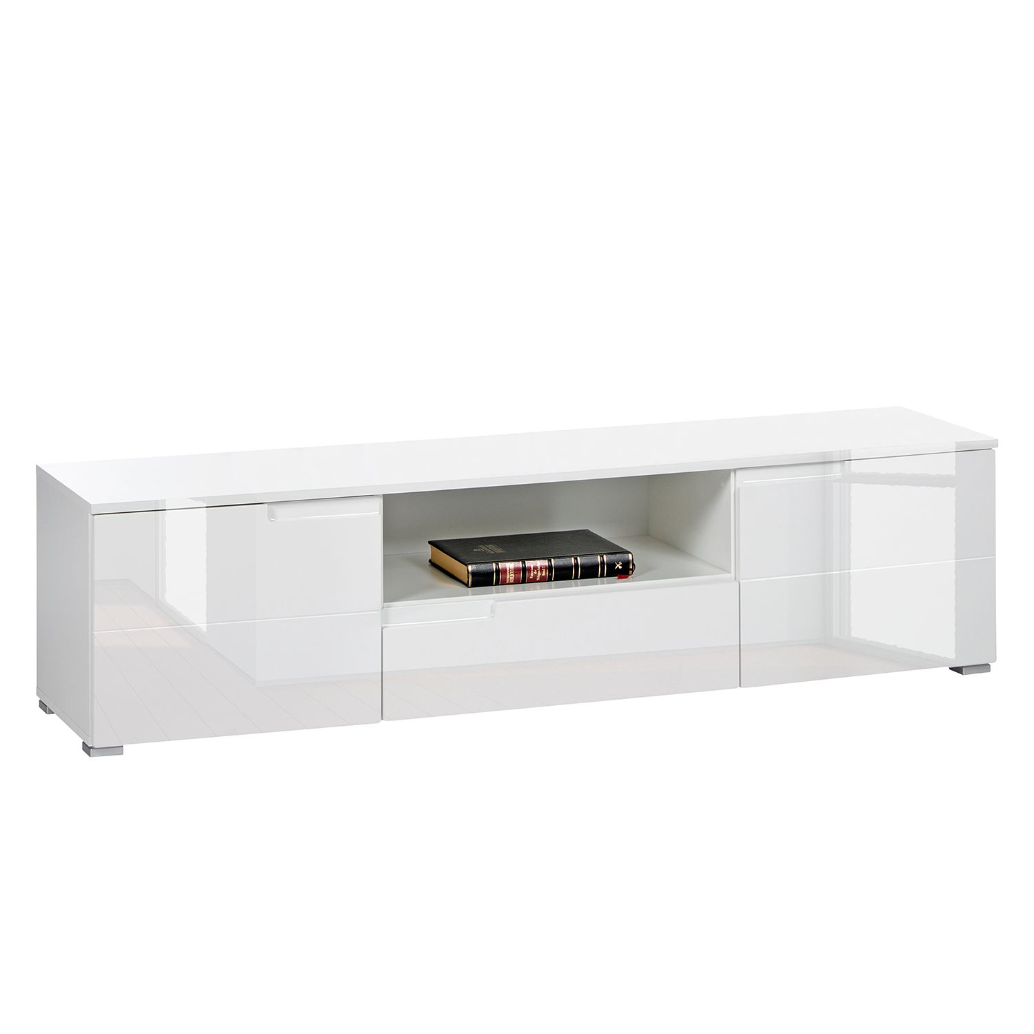 Home24 Meuble Tv Meuble Tv Larado Blanc Brillant Fredriks Par Fredriks