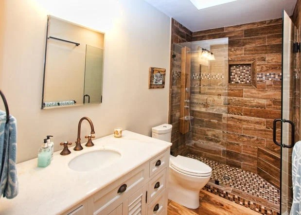 Small Bathroom Remodels Spending $500 vs $5,000 HuffPost - bathroom remodel pictures ideas