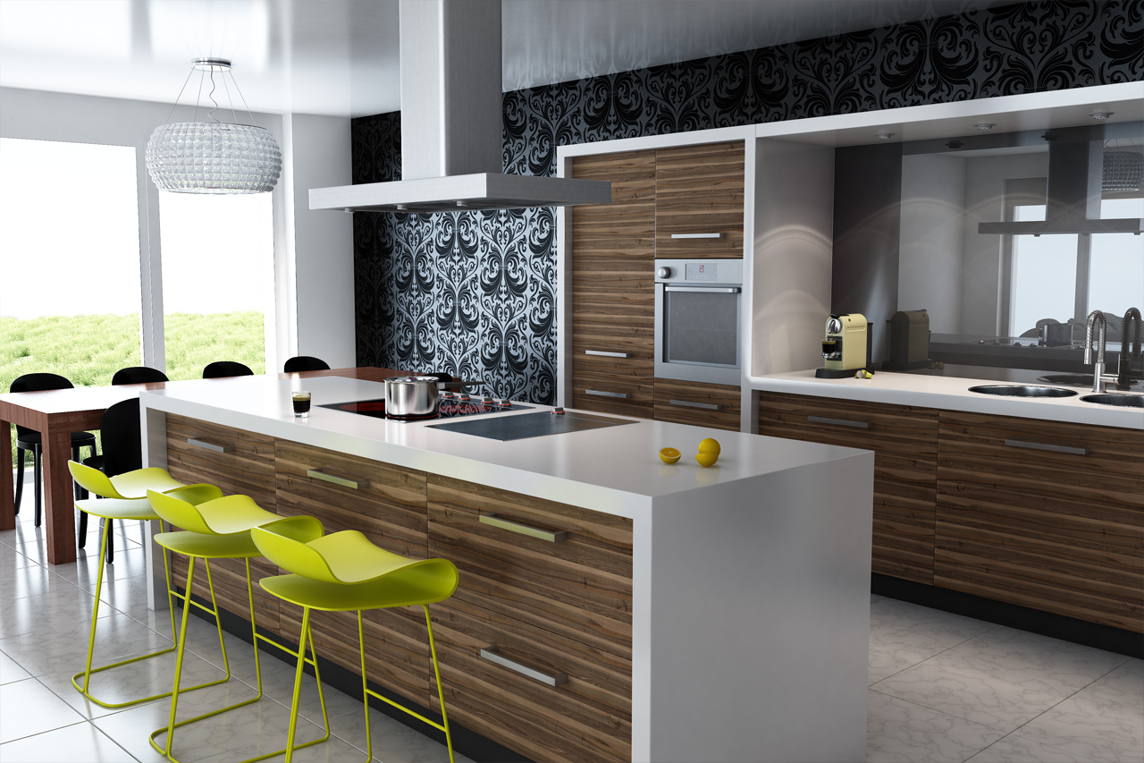 best modern kitchen cabinets contemporary kitchen cabinets Contemporary Elegance with Modern Kitchen Cabinets
