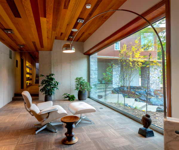 Holzdecke Zen Space: 20 Beautiful Meditation Room Design Ideas