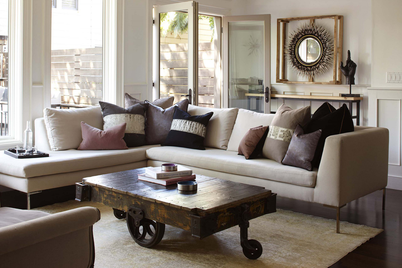 Rustic Chic Living Room - Rustic chic living room